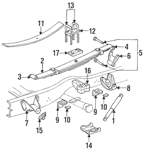 dodge ram oem parts diagram trox vav wiring rear suspension for 1994 2500 quickparts