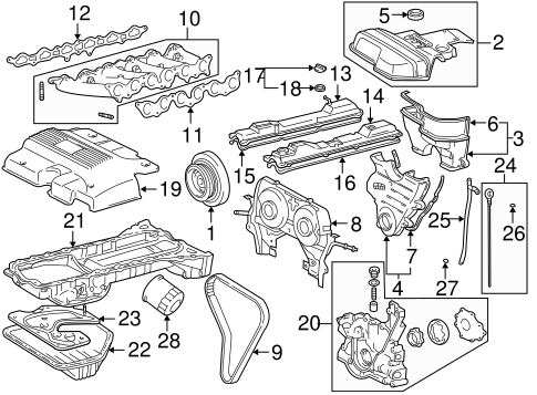 Engine Part Diagram