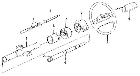 Pontiac G6 Steering Column Chevy Silverado Steering Column