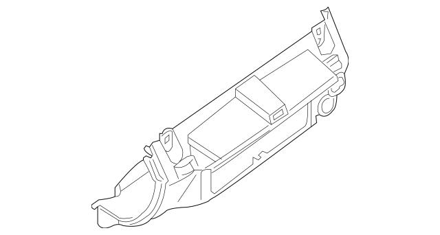 2005-2014 Nissan Xterra Lower Trim Panel 68245-ZP02C