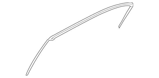 2009-2014 Hyundai Genesis Upper Weather-Strip 83160-3M000