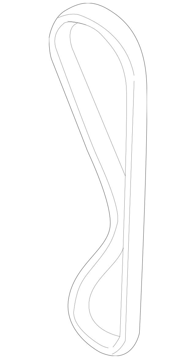Genuine OEM Timing Belt Part# 24312-23202 Fits 2004-2011