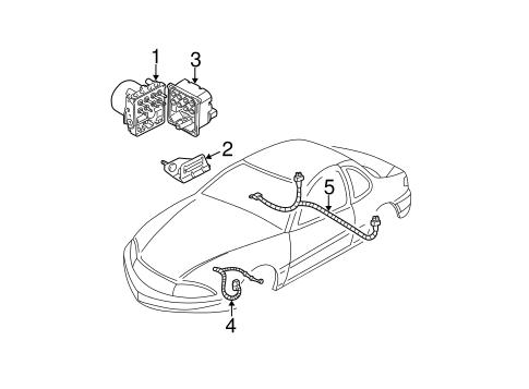 OEM ANTI-LOCK BRAKES for 2004 Oldsmobile Alero