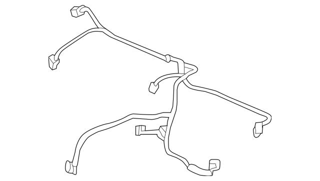 2014-2020 Acura RLX SEDAN Sub-Wire Harness, Air