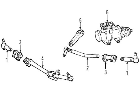 Steering Gear & Linkage for 2008 Ford F-250 Super Duty