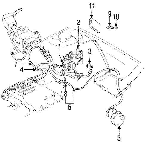 OEM FUEL SYSTEM COMPONENTS for 1993 Chevrolet Lumina