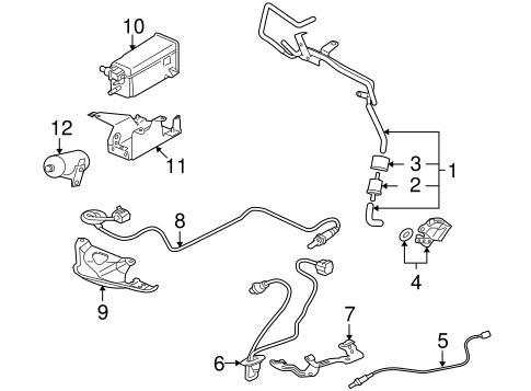 Emission Components for 2008 Mitsubishi Lancer