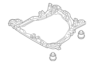 2005-2008 Hyundai Tucson Engine Cradle 62405-2E000