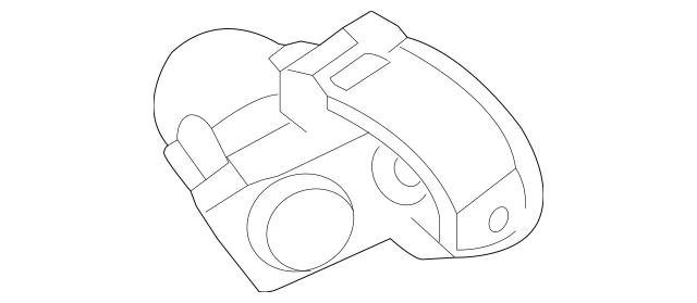 2012-2018 Toyota Yaris Steering Column Bracket 45280-52110