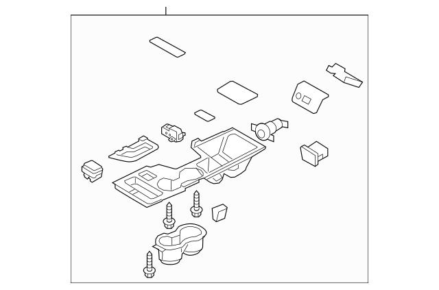 2011-2014 Hyundai Sonata Trim Panel Assembly 84650-3Q050
