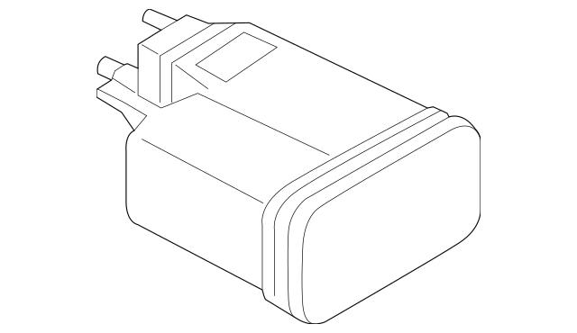 Genuine OEM Vapor Canister Part# 31420-4Z000 Fits 2014