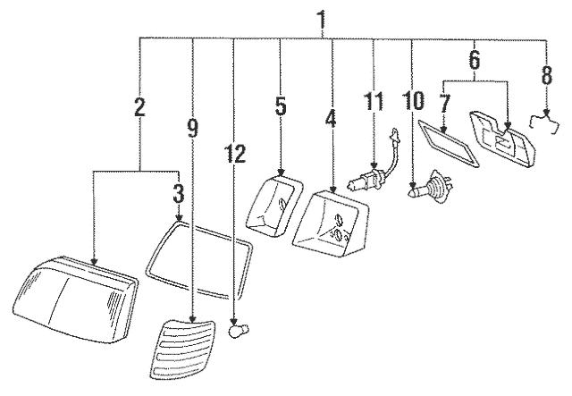 1992 Mercede 300se Fuse Diagram