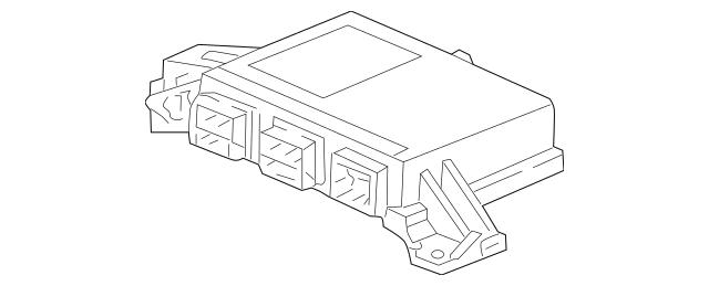 2003 Honda CIVIC HYBRID SEDAN SRS Unit 77960-S5B-A91