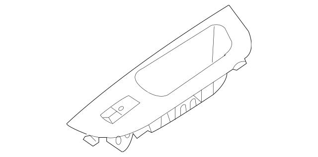 2011-2015 Kia Sorento Window Switch 93580-1U000H9