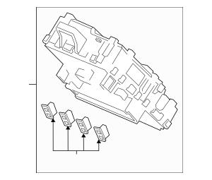 Discount Genuine OEM Honda Box Assembly, Fuse 38200-TLA
