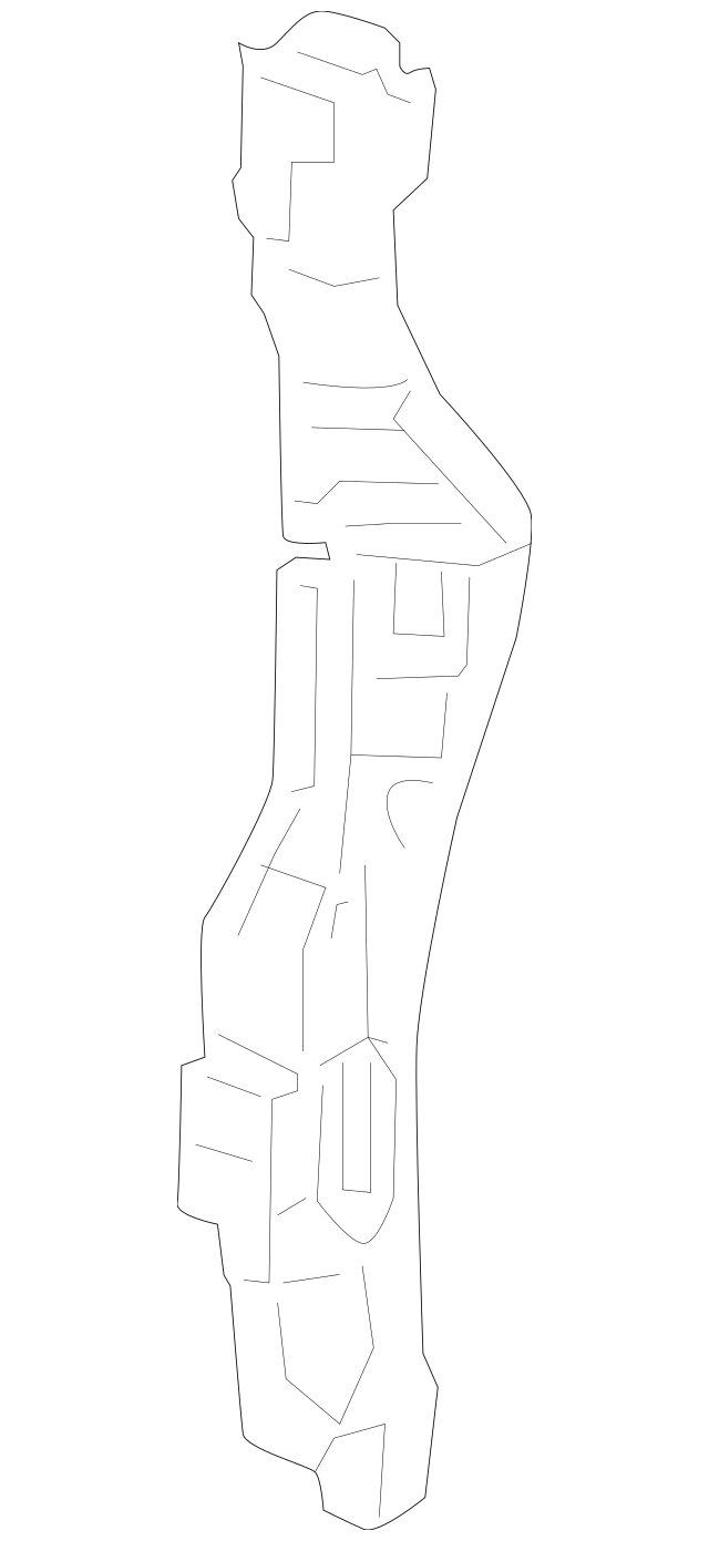 2011-2016 Honda ODYSSEY 5-DOOR Stay Set, R Front Bulkhead