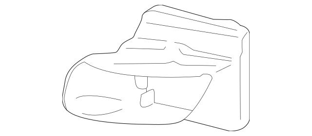 2013-2015 Porsche Boxster Air Duct 981-575-321-00-1E0