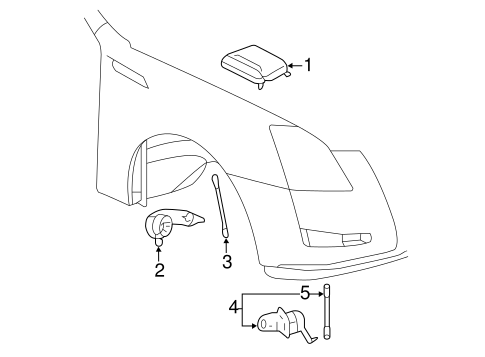 Electrical Components for 2009 Cadillac CTS (Base
