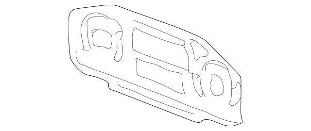 2000-2006 Honda INSIGHT Lcd Assembly 78130-S3Y-003