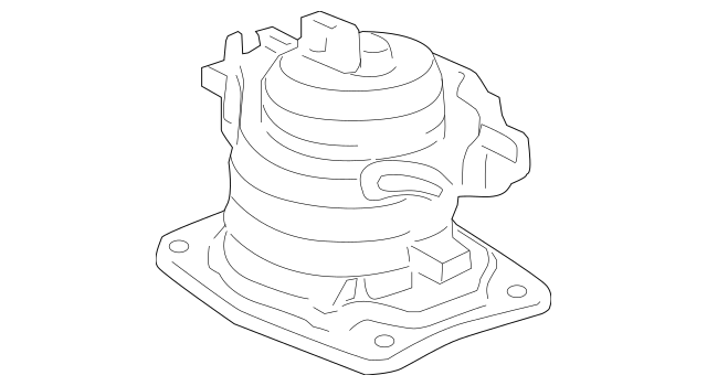 2005-2007 Honda ODYSSEY 5-DOOR Rubber Assembly, Front