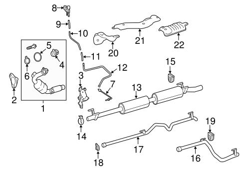 Exhaust Components for 2014 Mercedes-Benz Sprinter 2500