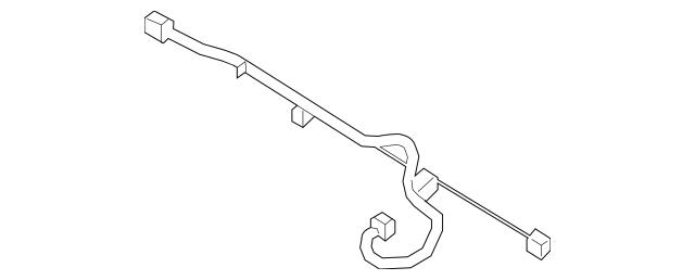 2009-2012 Hyundai Elantra Wire Harness 91880-2L040