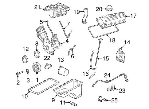 Engine Parts for 2007 Ford Explorer Sport Trac