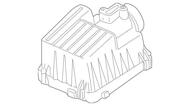 Genuine 2010-2014 Honda INSIGHT Cover, Air Cleaner 17210