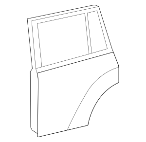 Genuine OEM Door Shell Part# 67004-0E060 Fits 2008-2013