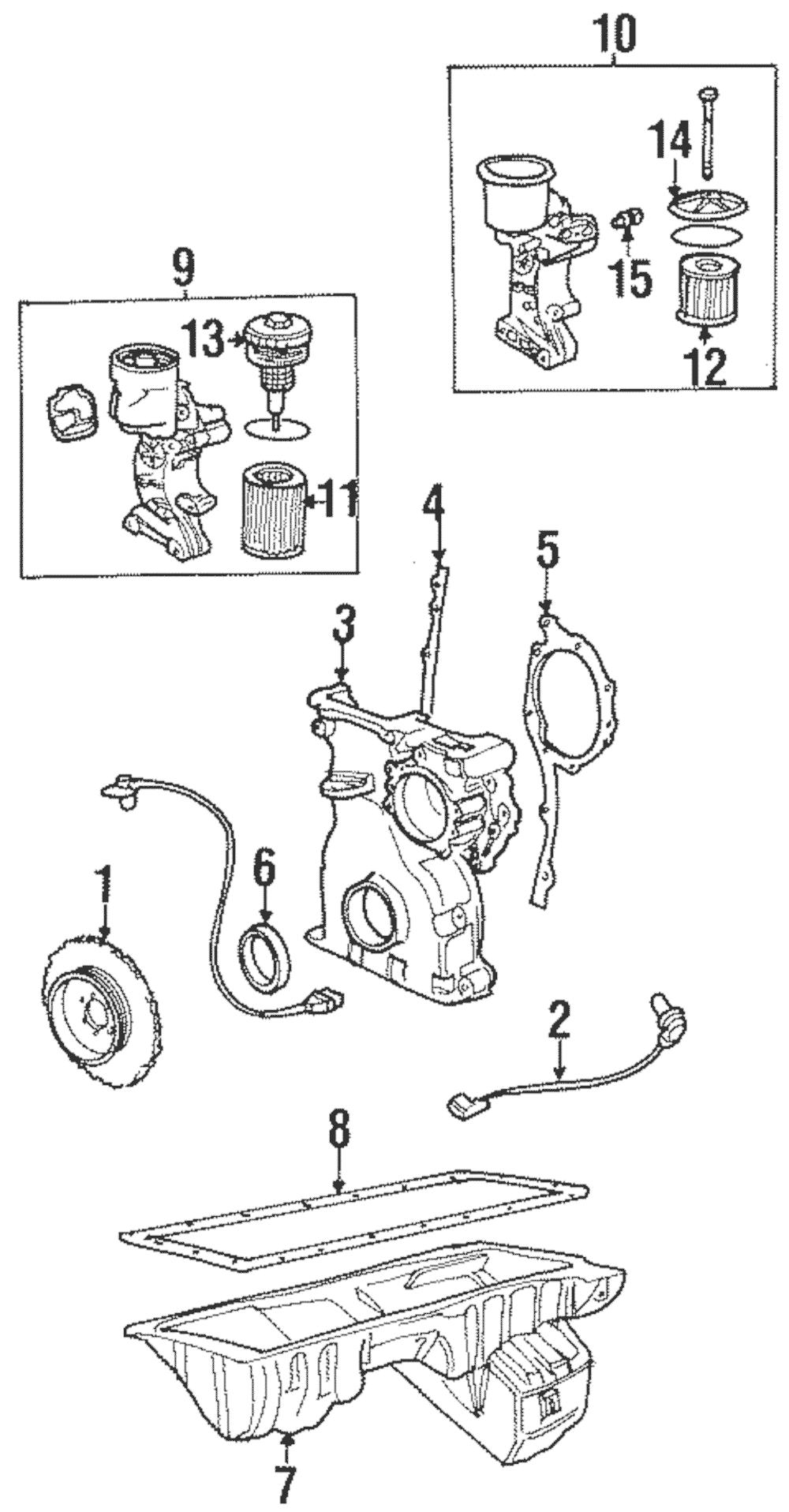 Genuine BMW Engine Camshaft Position Sensor 12-14-1-703