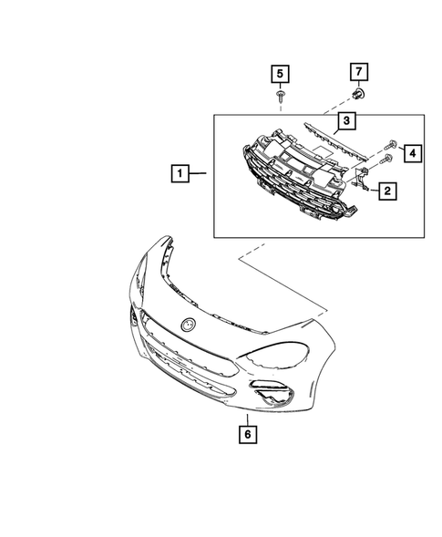 Moldings and Ornamentation for 2018 Fiat 124 Spider