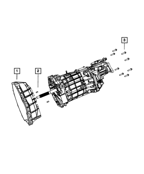 Manual Transmission / Transaxle for 2014 Dodge Challenger