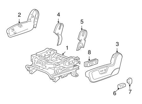 Power Seats for 2008 Saturn Vue