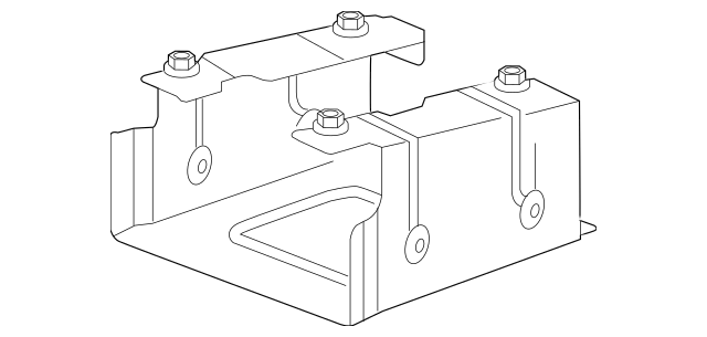 Honda Bracket, Navigation Electronic Control Unit (39541