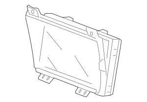 2008-2010 Honda Display Assembly, Navigation (Coo) (Alpine