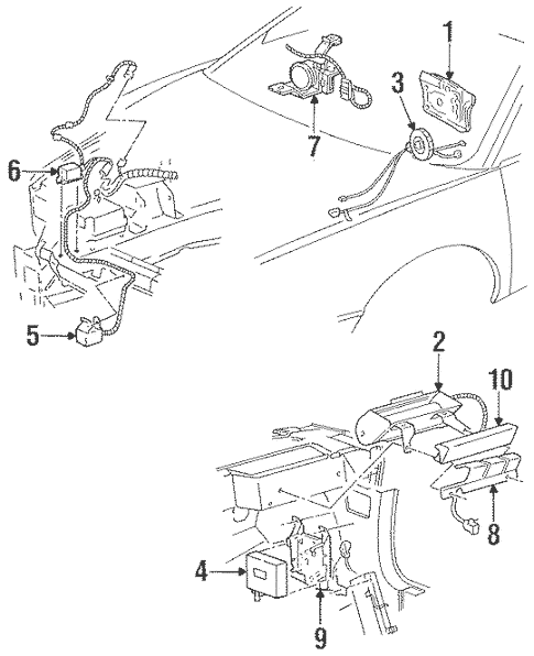 2001 Aurora Engine Diagram / DIAGRAM 2001 Olds Aurora 3 5