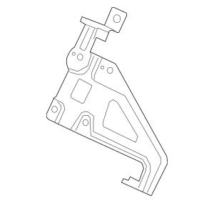 2015-2017 Honda FIT 5-DOOR Bracket, Audio (Driver Side