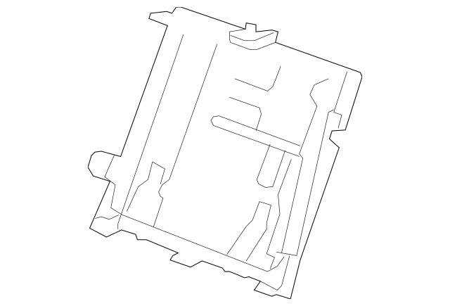 2012 Acura RDX 5-DOOR Frame, L Rear Seat-Back 82526-STK
