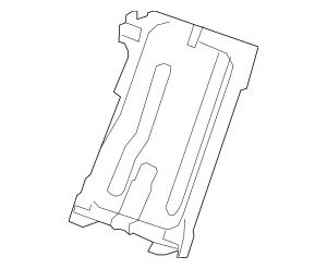 2007-2011 Acura RDX 5-DOOR Frame, R Rear Seat-Back 82126
