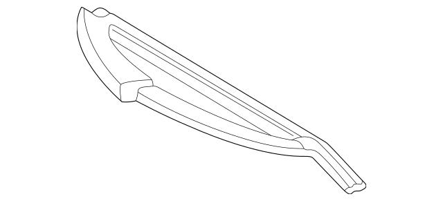 Genuine Mercedes-Benz Headlight Wiper Blade 202-820-05-45