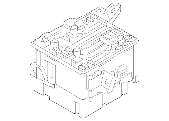 Buy this Genuine 2014-2018 Mitsubishi Fuse & Relay Box