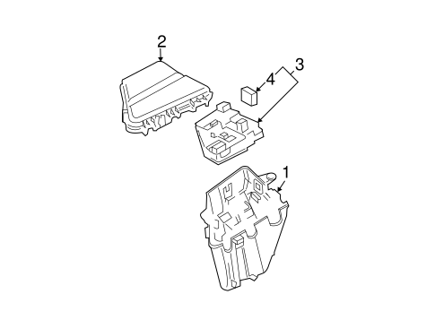 Electrical Components for 2004 Cadillac CTS (Base