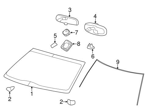 Rain Sensor for 2014 Ford F-150|8A5Z-19G382-A : Genuine