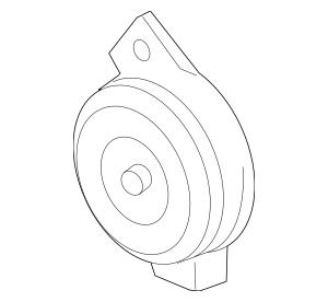 2004-2006 Acura MDX 5-DOOR Horn Assembly, High 38150-S3V