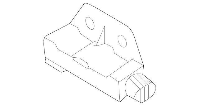 2009-2010 Nissan Rogue Ft Impact Sensor K8581-CD00A