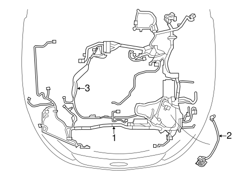 WIRING HARNESS for 2010 Ford Fusion