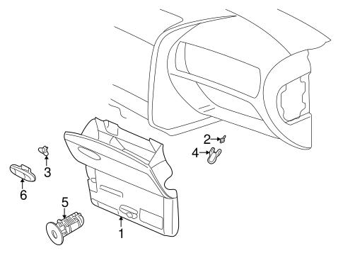OEM 2004 Buick Rainier Instrument Panel Parts