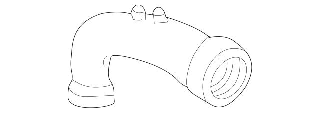 2000-2006 Honda INSIGHT Tube, Air Flow 17228-PHM-000