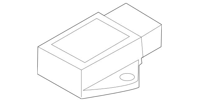 2009-2020 Nissan 370Z Yaw Rate Sensor 47931-1EA1A