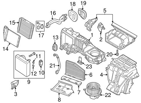 Condenser, Compressor & Lines for 2014 Volkswagen Beetle